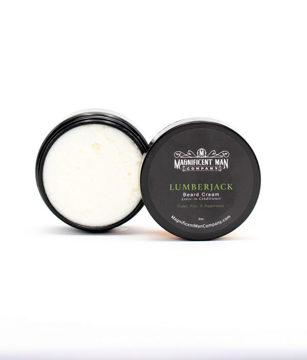 lumberjack beard cream open