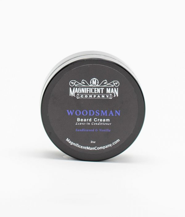 woodsman beard cream front